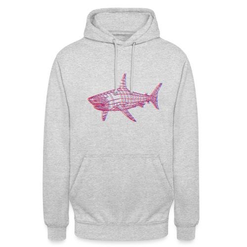 Jaws 3D - Sweat-shirt à capuche unisexe