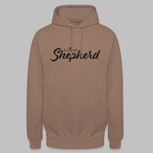 LOVE MY SHEPHERD - Black Edition - Dog Lover - Unisex Hoodie