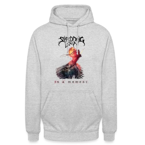 In a moment - White - Unisex Hoodie