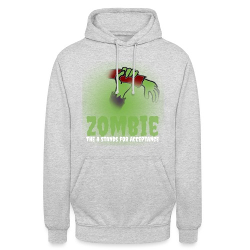 Zombie The A stands for - Unisex Hoodie
