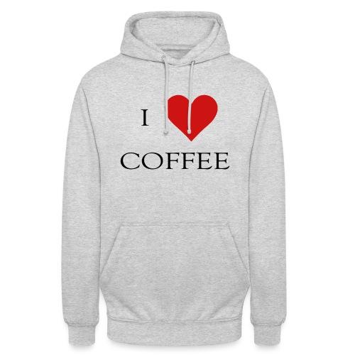 i love coffee Design - Unisex Hoodie