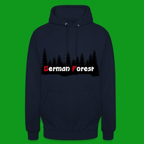 GermanForest 2 png - Unisex Hoodie
