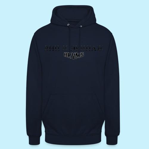 ВИП И ЭКИПАЖ / VIP & CREW / BRVMS - Sweat-shirt à capuche unisexe