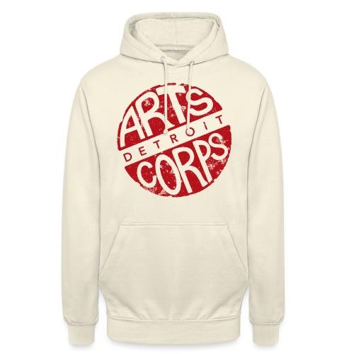 Art Corps Detroit - Sweat-shirt à capuche unisexe