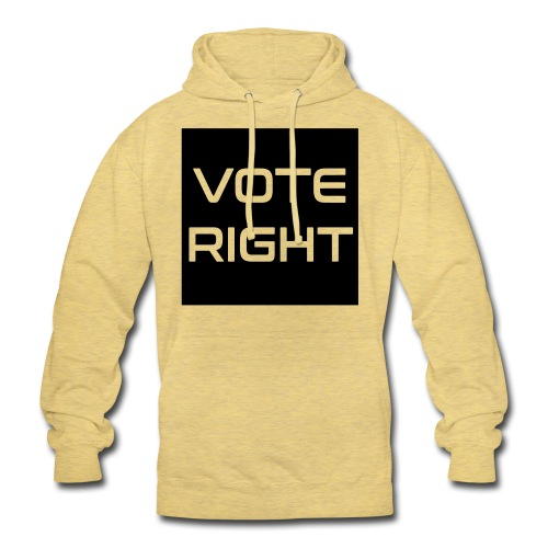 vote right - Unisex Hoodie