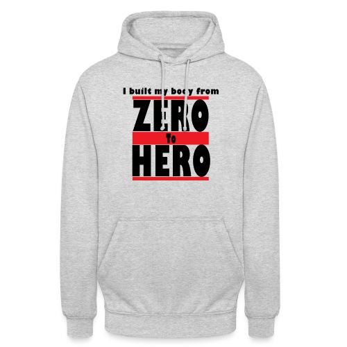 """Zero To Hero - Huppari """"unisex"""""""
