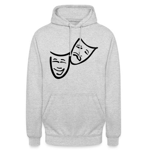 Theatermasken - Unisex Hoodie