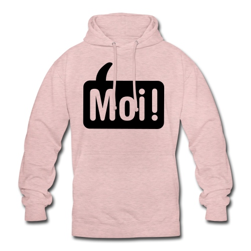 hoi shirt front - Hoodie unisex