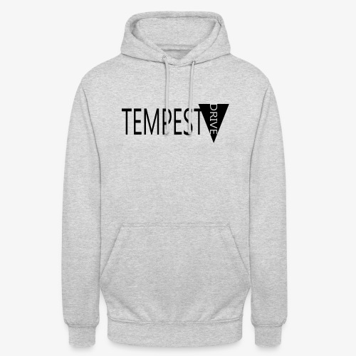Tempest Drive: Full Logo - Hættetrøje unisex