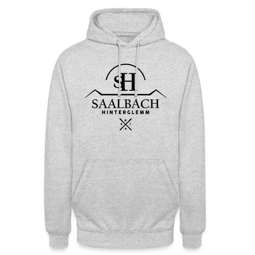 Saalbach embleem SKI-X - Hoodie unisex
