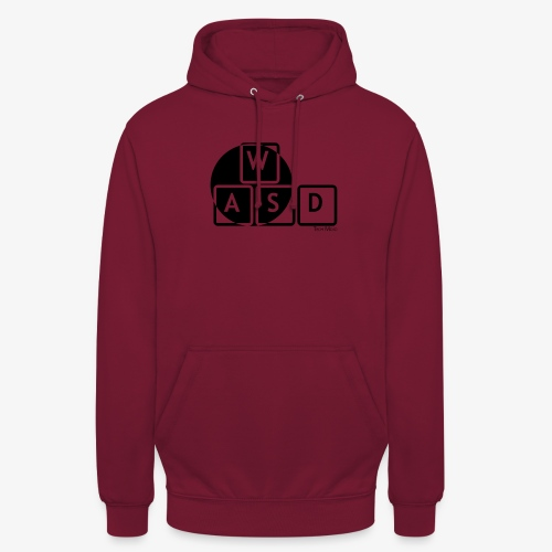 WASD Gaming is Life - Unisex Hoodie