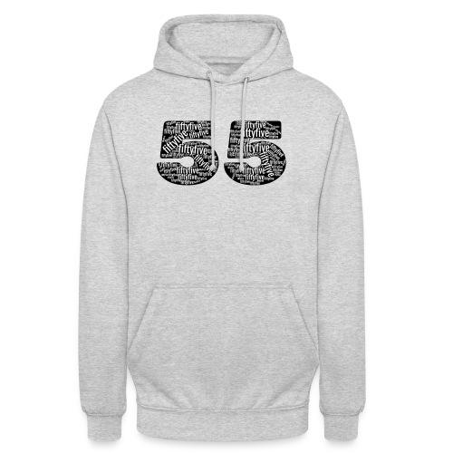 """55 tekstinumerot - Huppari """"unisex"""""""