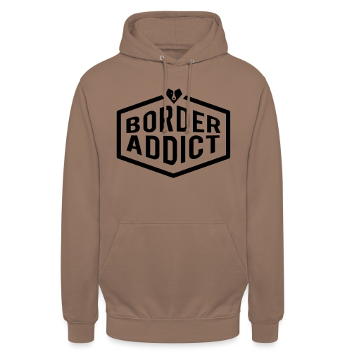 Border Addict - Sweat-shirt à capuche unisexe