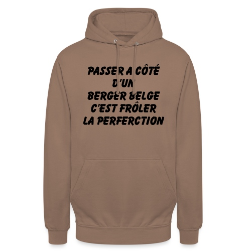 Frôler la perfection - Sweat-shirt à capuche unisexe