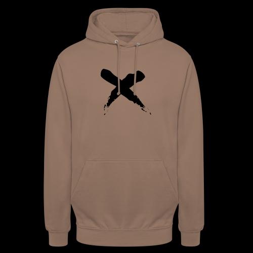 x - Felpa con cappuccio unisex