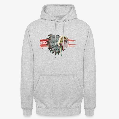 Native american - Sweat-shirt à capuche unisexe
