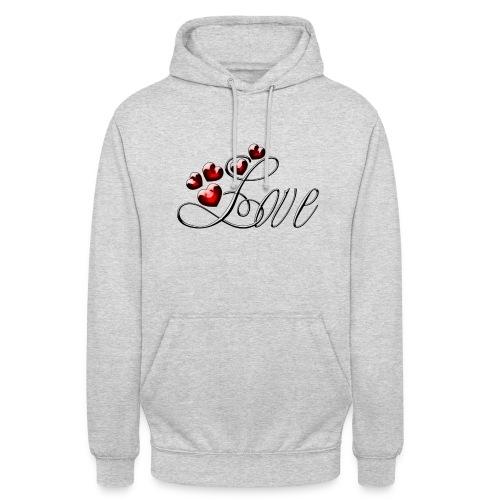 Love Herz - Unisex Hoodie