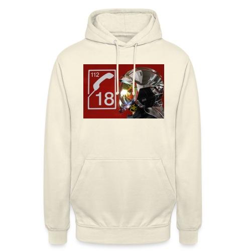 pompier 18 - Sweat-shirt à capuche unisexe