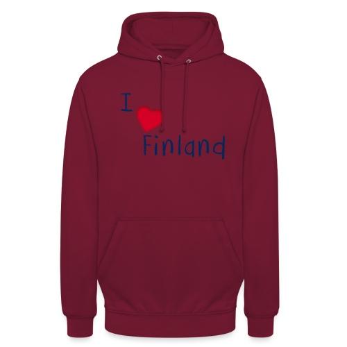 "I Love Finland - Huppari ""unisex"""