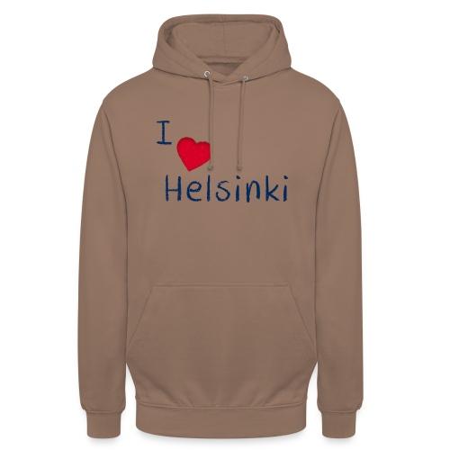 "I Love Helsinki - Huppari ""unisex"""