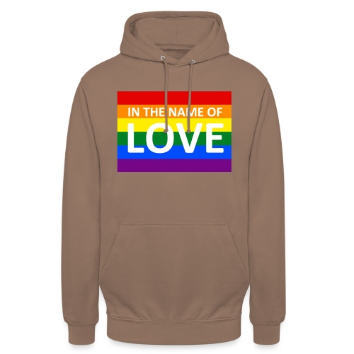 IN THE NAME OF LOVE - Hættetrøje unisex