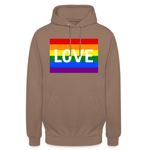 LOVE RETRO T-SHIRT - Hættetrøje unisex
