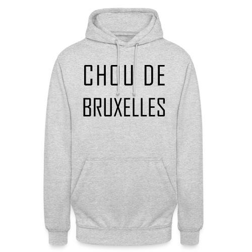 Chou de Bruxelles - Sweat-shirt à capuche unisexe