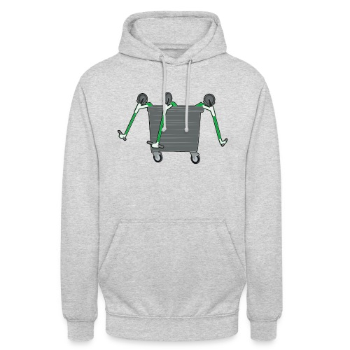 EScooter Recycling Tonne - Unisex Hoodie