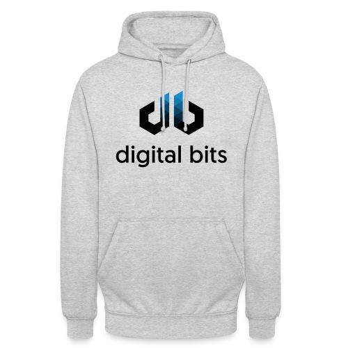 digitalbits Logo mit Schriftzug - Unisex Hoodie