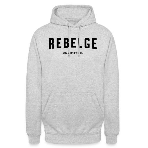 Rebelge België Belgique - Sweat-shirt à capuche unisexe