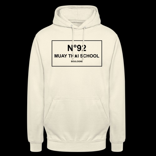 MTS92 N92 - Sweat-shirt à capuche unisexe