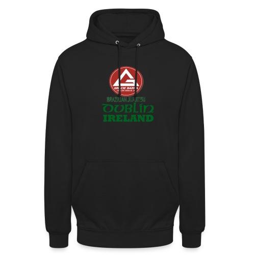 Gracie Barra Dublin Gaelic Celtic Font PNG - Unisex Hoodie