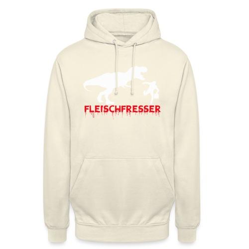 fleisch rot - Unisex Hoodie
