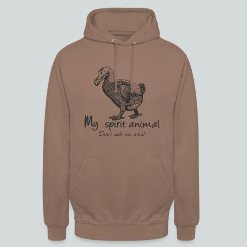 Le dodo est mon animal totem. - Sweat-shirt à capuche unisexe
