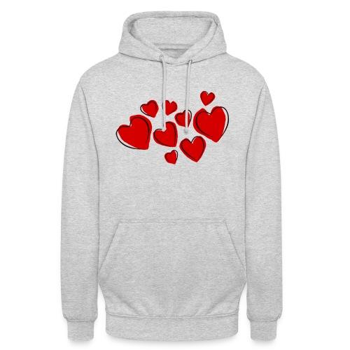 hearts herzen - Unisex Hoodie