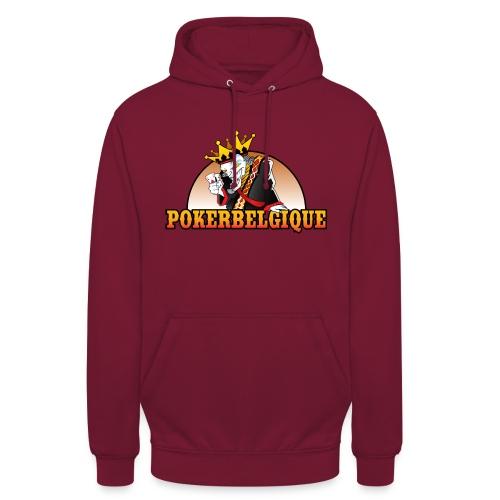 Logo Poker Belgique - Sweat-shirt à capuche unisexe