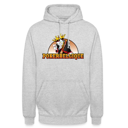 Logo Poker Belgique - Sweat-shirt à capuche unisexe