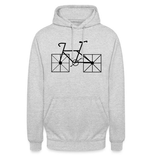 bike squarewheels - Hoodie unisex