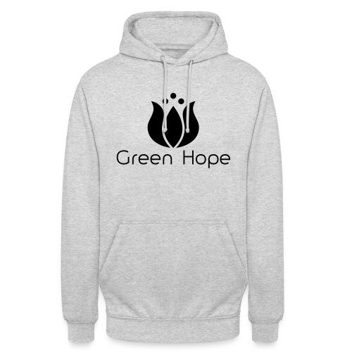 Logo + Ens GreenHope - Sweat-shirt à capuche unisexe