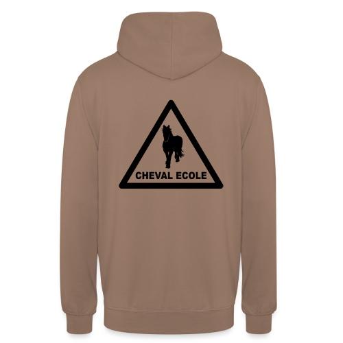 chevalecoletshirt - Sweat-shirt à capuche unisexe