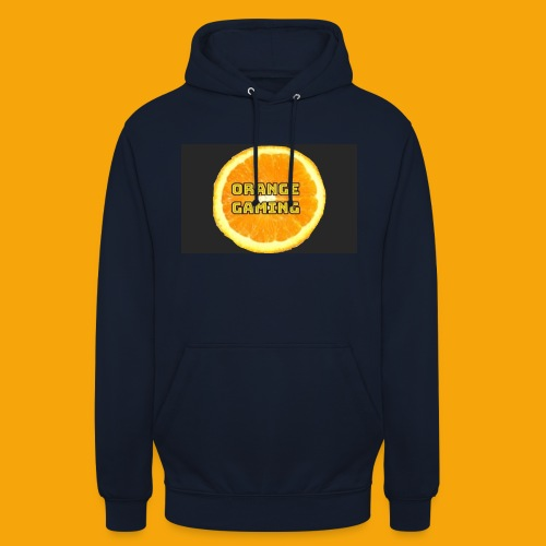 Orange_Logo_Black - Unisex Hoodie