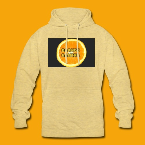 Orange_Logo_Black - Unisex Hoodie