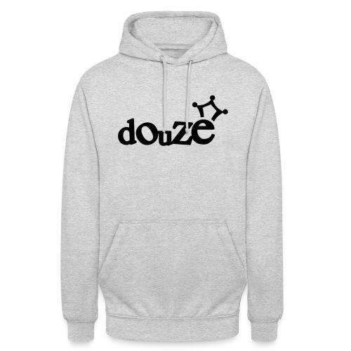 logo_douze - Sweat-shirt à capuche unisexe