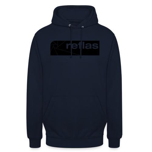Reflas Clothing Black/Gray - Felpa con cappuccio unisex
