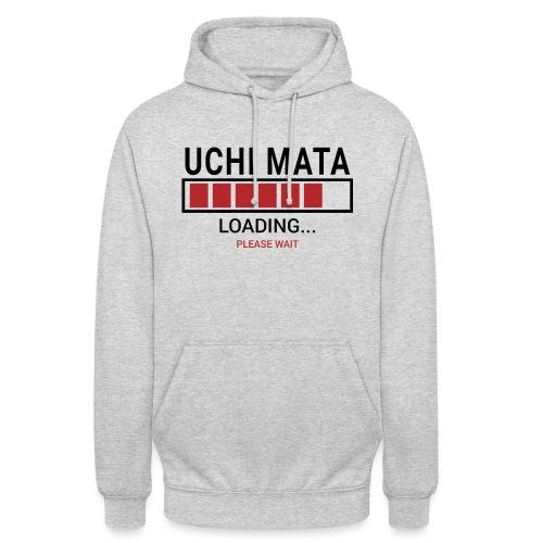 Uchi Mata loading... pleas wait - Bluza z kapturem typu unisex