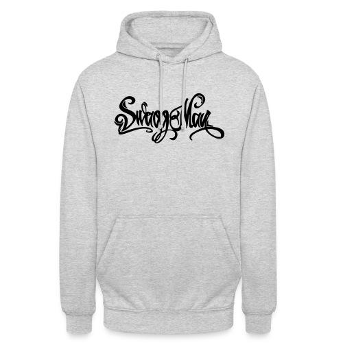 Swagg Man logo - Sweat-shirt à capuche unisexe