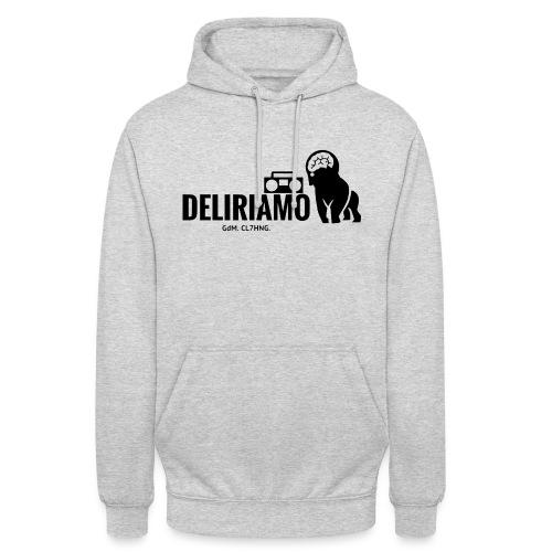 DELIRIAMO CLOTHING (GdM01) - Felpa con cappuccio unisex