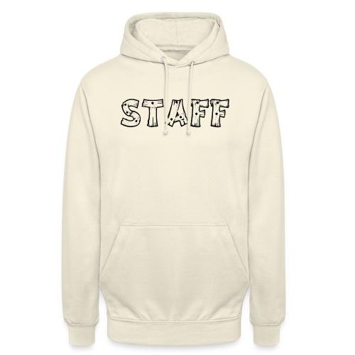 STAFF - Felpa con cappuccio unisex