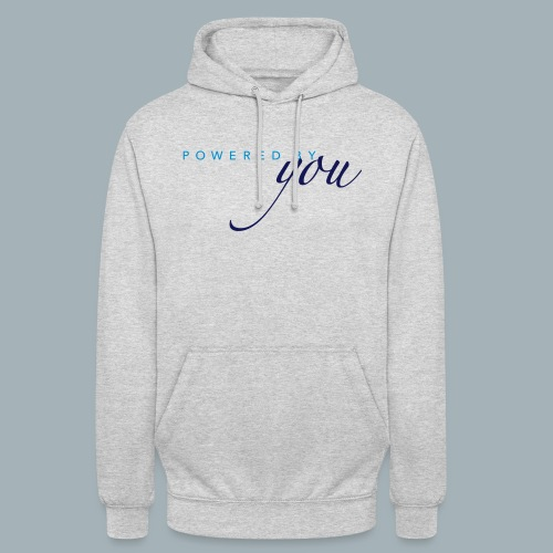 Powered By You Basketbal Shirt - Hoodie unisex