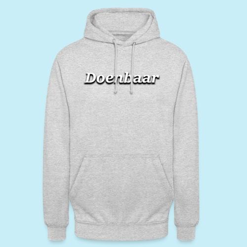 doenbaar - Sweat-shirt à capuche unisexe